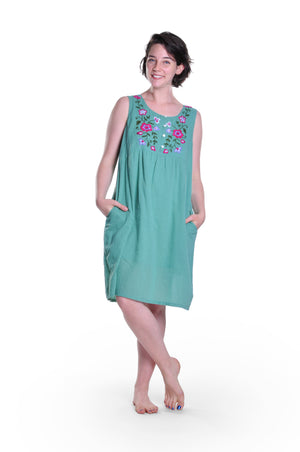 100% Cotton Sleeveless Chemise