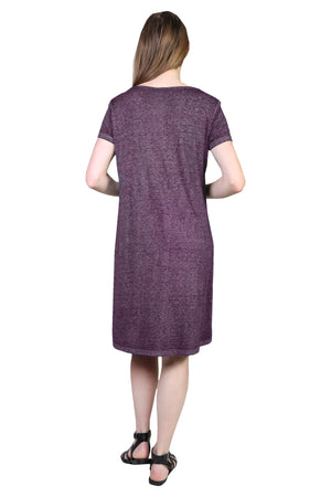 Plus Size Burnout Knit Dress