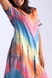 La Cera Tie-Dye Short Sleeve Dress - La Cera™ - 2