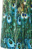 La Cera Peacock Printed Sleevless Maxi Dress - La Cera™ - 2