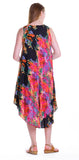 Multi Print Handkerchief Dress