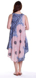 Floral Print Handkerchief Dress