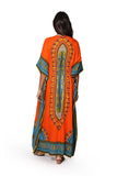 100% Cotton Tribal Print Caftan