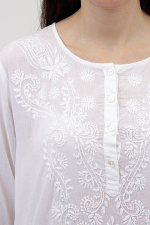 La Cera Embroidered Cover Up - La Cera™ - 6