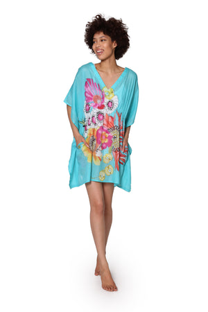 100% Cotton Floral Print Tunic