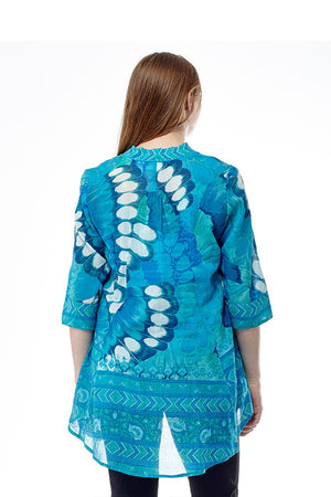 Butterfly Wing Flyaway Top