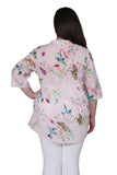 Plus Size Nature At It's Best Release Print Tunic