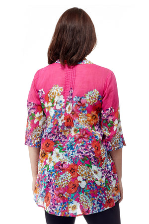 Colorful Floral Tunic