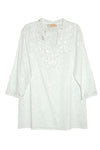 La Cera Floral Embroidered Tunic Top - La Cera™ - 4