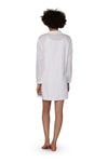 La Cera Long Sleeve Sleep Shirt