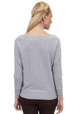 La Cera Long Sleeve Pullover Sweater