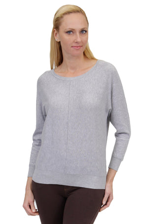 Plus Size La Cera Long Sleeve Pullover Sweater