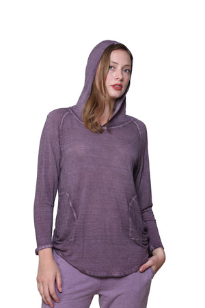Soft & Supple Hooded Knit Top