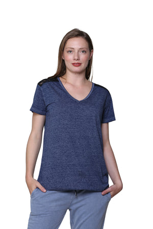 Soft & Supple V-Neck Knit Top