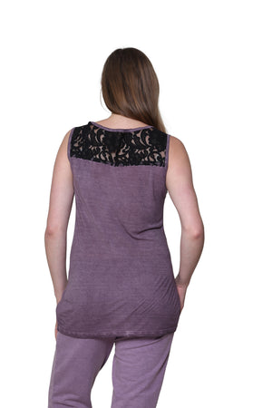 Plus Size Soft & Supple Sleeveless Knit Top