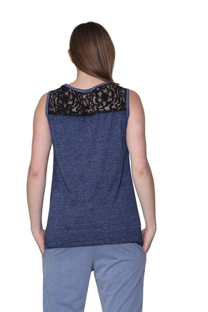 Soft & Supple Sleeveless Knit Top