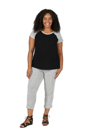 The Comfort Collection Plus Size Capri