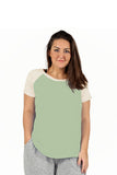 The Comfort Collection Plus Size Duo Tone Tee