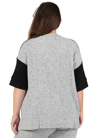 The Comfort Collection Block Plus Size Tee