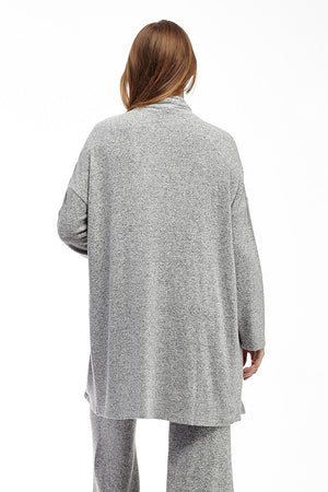 La Cera Shawl Collar Long Cardigan - La Cera™ - 6