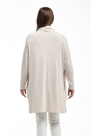 La Cera Shawl Collar Long Cardigan - La Cera™ - 4