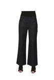 La Cera Stretch Knit Wide Leg Pant