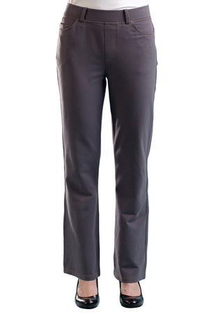 La Cera Stretch Knit Boot Cut Pant