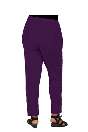 The Comfort Collection Plus Size Slim Pant