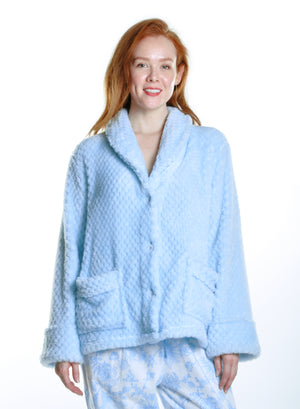 Honeycomb Fleece Bed Jacket