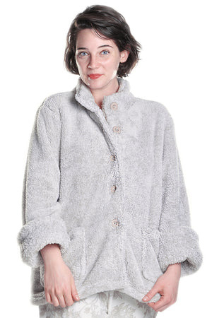 Fleece Plus Size Bed Jacket