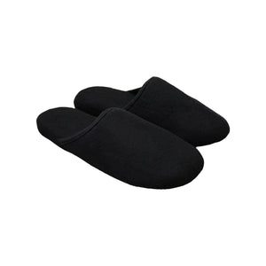 Black Comfort Slippers