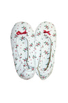 Holiday Mistletoe Slippers