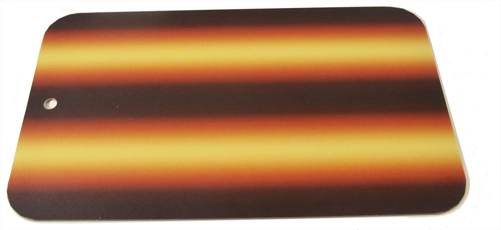 "3D-Amber Fire 12"" Board Only (3D-AFB-12) (Made in USA)"