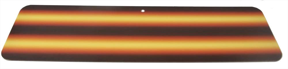 "3D-Amber Fire 24"" Board Only (3D-AFB-24) (Made in USA)"