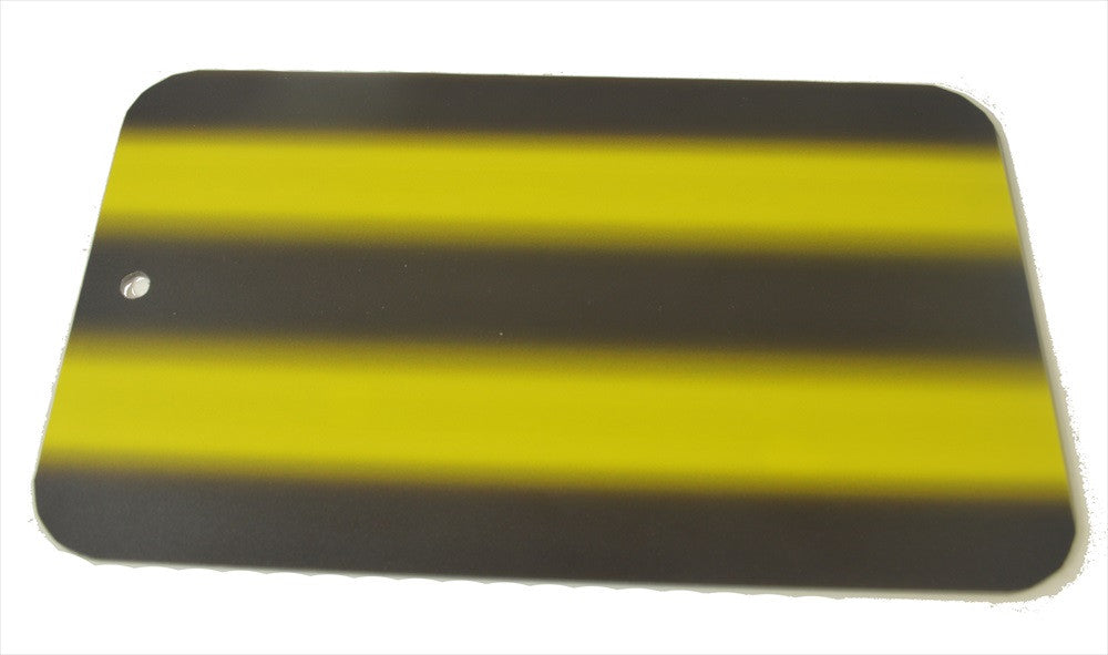 "3D-Yellow Fade 12"" Board Only (3D-YFB-12) (Made in USA)"