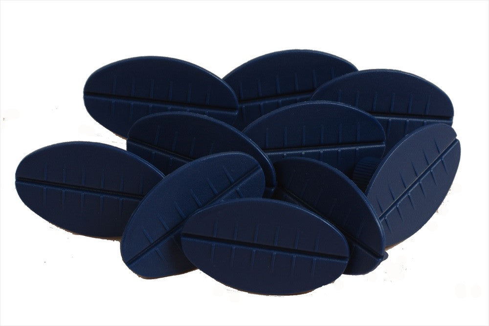Blue Oval Glue Tabs (JBO) (Made in The Netherlands)