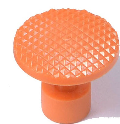 Orange Checkered Quarter Sized Glue Tabs (OCQ) (Made in China)