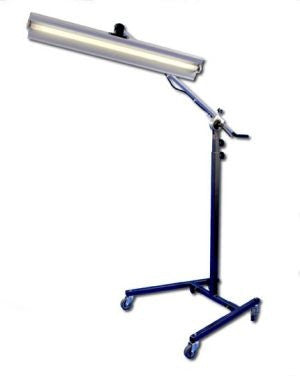 "Reverse Curvature 12-Volt Light Stand with 36"" Fixture [TS-12V] (Made in USA)"