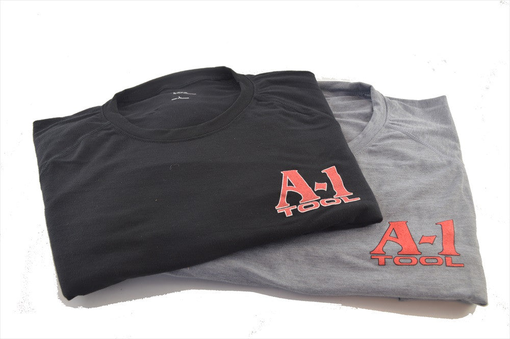 New A-1 T-Shirt Grey (Made in USA)