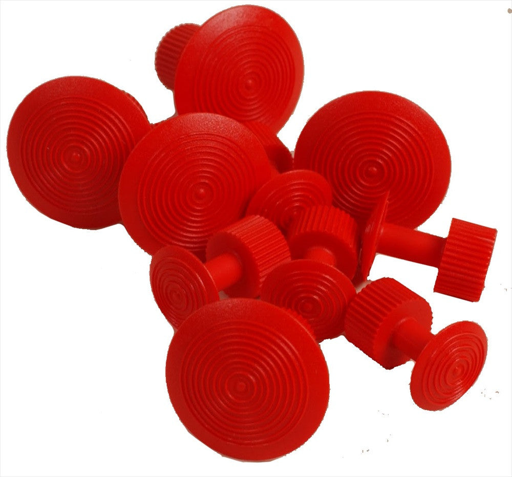 Red Wurth Glue Tabs (5 Small and 5 Large Tabs) (W154) (Made in Germany)