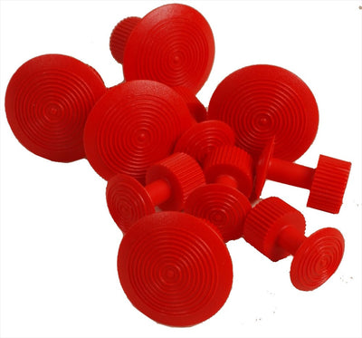 Red Wurth Glue Tabs (5 Small and 5 Large Tabs)