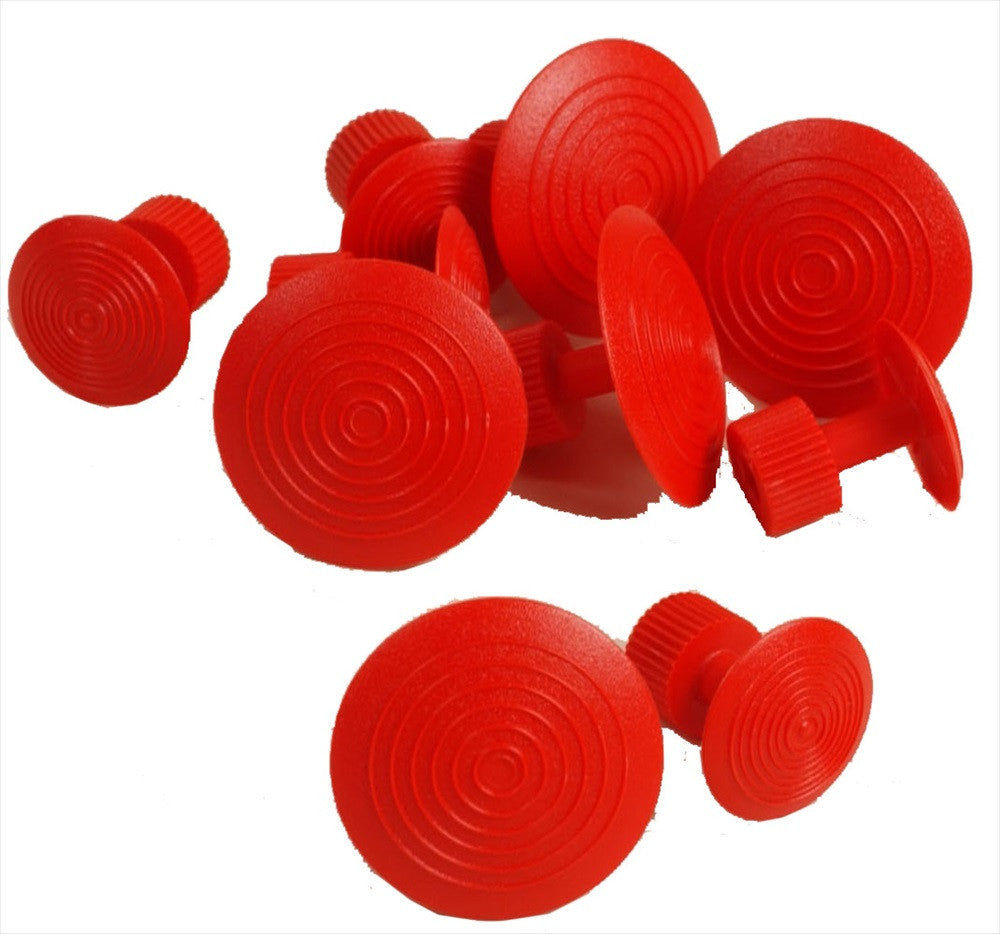 Red Wurth Glue Tabs (5 Medium and 5 XL Tabs) (W155) (Made in Germany)