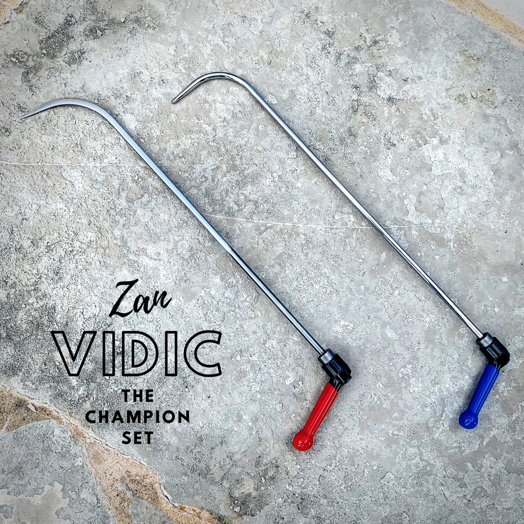 The Champion Set was featured on Tuesday Tool Day In honor of Zan Vidic, the pair of mighty PDR tools he used when competing in PDR World Cup, Dent Olympics and other PDR competitions.