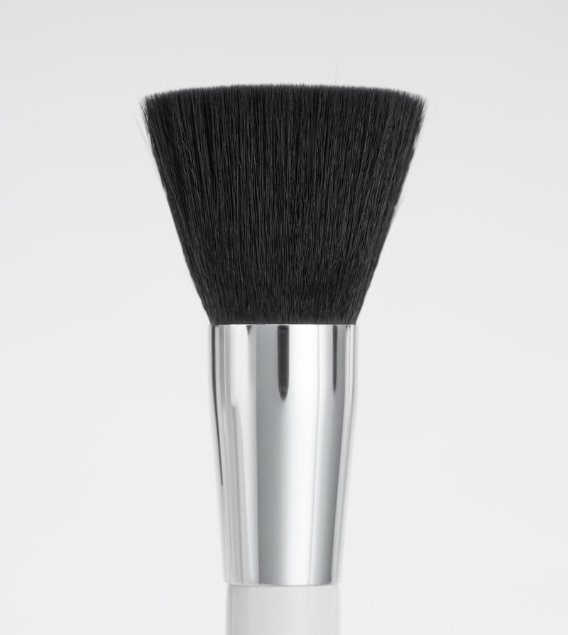 the blend end of the blush and blend brush