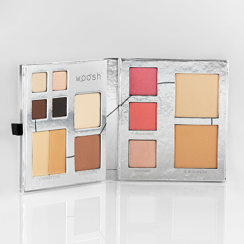 Fold Out Face palette open to see all 13 cosmetics.