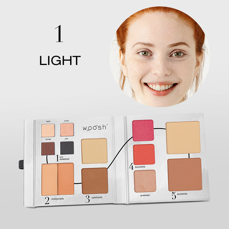 Fold Out Face palette opened shade #1 light