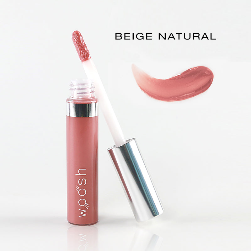 spin on lip gloss in shade beige natural