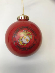 Ornament - Christmas Ball Red
