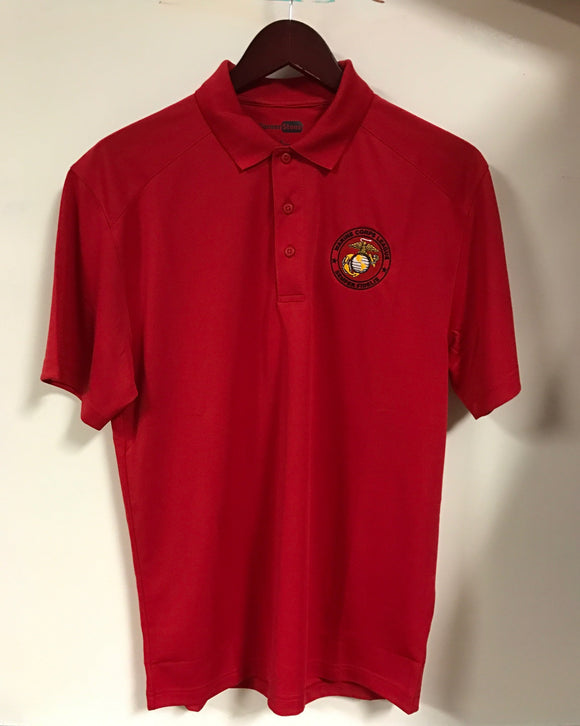 wa121 Red MCL Polo