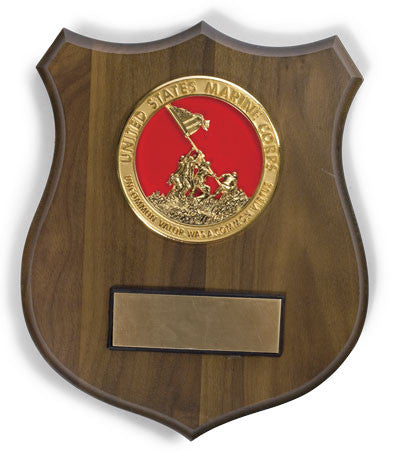 Plaque - Iwo Jima Shield